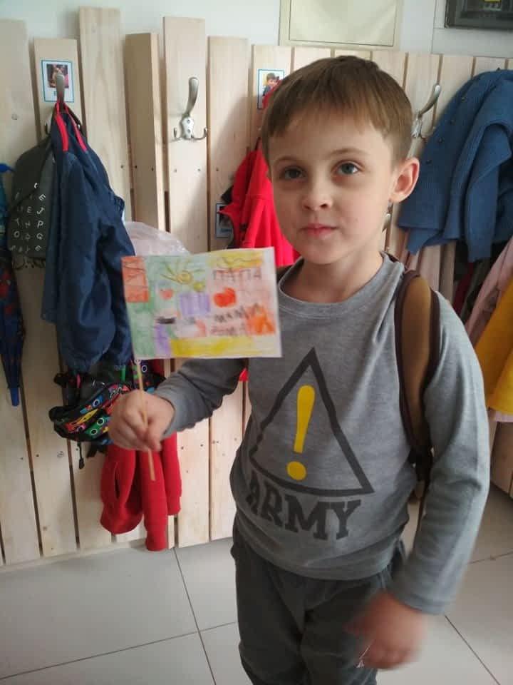 Фотография ребенка в детском саду